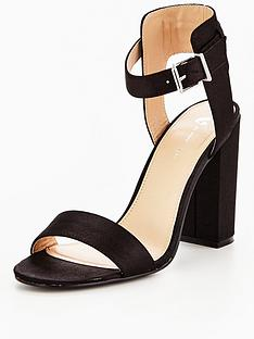 v-by-very-dream-satin-block-heeled-sandal-black
