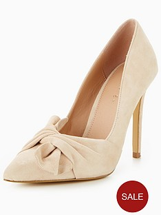 v-by-very-jaquie-real-suede-knot-detail-heeled-shoe-nude