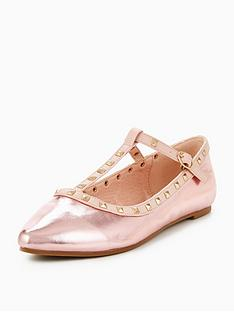 v-by-very-girls-vivienne-studded-t-bar-ballerina-shoes