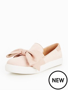 v-by-very-girls-maggie-bow-slip-on-trainers