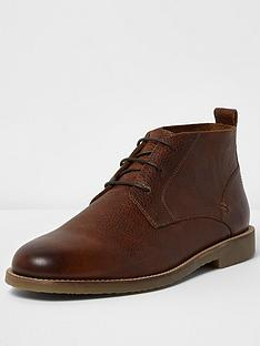 river-island-mens-leather-chukka-boot