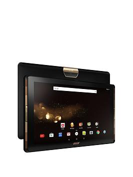 Acer Acer Iconia Tab 10 (A3A40) Quad Core Processor 2Gb Ram 64Gb Storage Android 6.0 10.1 Inch Full Hd Ips Tablet  Free Portfolio Case