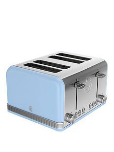 swan-st19020bln-4-slice-retro-toaster-blue