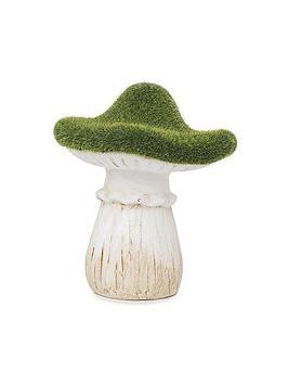 paroh-mushroom-flocked-garden-ornament
