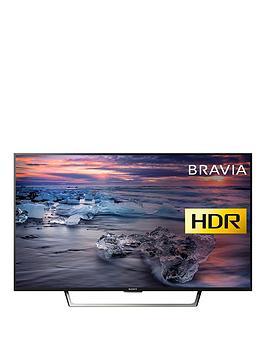 Sony Bravia Kdl43We753Bu 43 Inch Full Hd Hdr Smart Tv With Triluminos Display  Black
