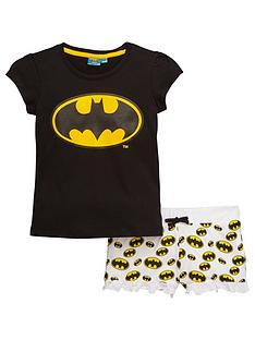 batgirl-shorty-pyjamas