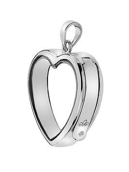 Anais Anais Sterling Silver Medium Heart Locket