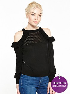ri-petite-cold-shoulder-knit