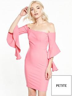 ri-petite-frill-bardot-bodycon-dress