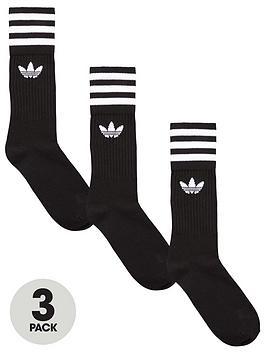 Adidas Originals Adicolor Solid Crew Crew Solid Sock 957b83
