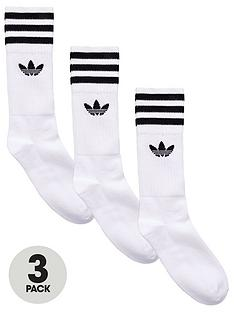 adidas-originals-solid-crew-socksnbsp3-pack