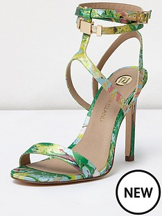 river-island-river-island-wired-ankle-wrap-barely-there-tropical-print