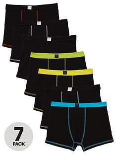 v-by-very-boys-black-trunks-7-pack