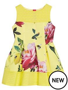 baker-by-ted-baker-girls-floral-print-scuba-dress