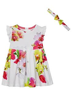 baker-by-ted-baker-baby-girls-floral-dress-and-hairband