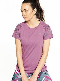 asics-stripe-short-sleeved-top