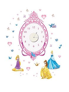 graham-brown-disney-princess-sticker-clock
