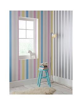 graham-brown-cotton-candy-stripe-wallpaper