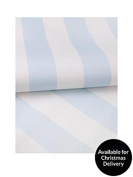 graham-brown-pastel-blue-stripe-wallpaper