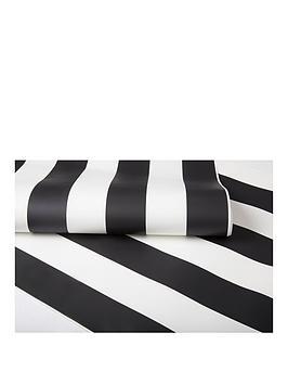 graham-brown-monochrome-stripe-wallpaper