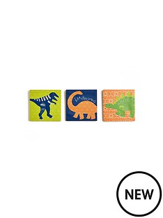 arthouse-dino-doodles-canvas-prints-set-of-3