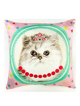 Arthouse Hall Of Fame Cat Cushion