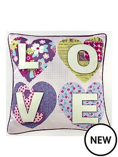 arthouse-patchwork-hearts-cushion