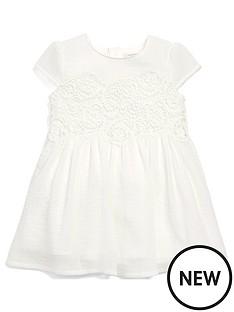 mamas-papas-baby-girls-lace-crepe-dress
