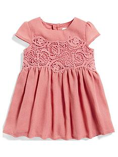 mamas-papas-baby-girls-lace-crepe-dress