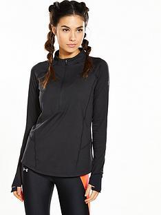 under-armour-run-true-half-zip-long-sleeve-top-blacknbsp