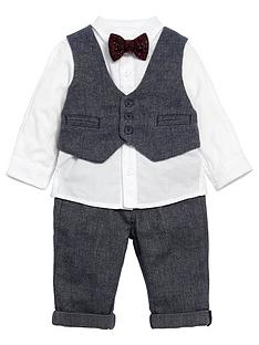 mamas-papas-baby-boys-4-piece-navy-outfit