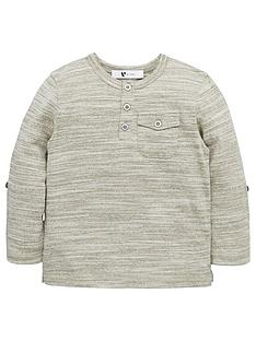 mini-v-by-very-boys-single-roll-sleeve-grandad-tee
