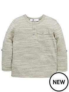 mini-v-by-very-toddler-boys-single-roll-sleeve-grandad-tee-khaki