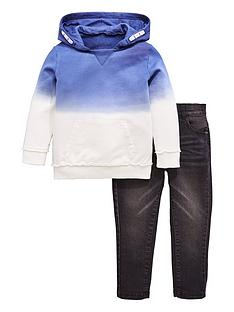 mini-v-by-very-boys-dip-dye-hoody-amp-jean-outfit