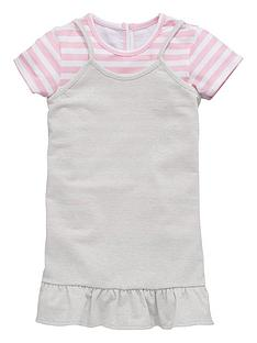 mini-v-by-very-girls-pink-stripe-tee-with-silver-lurex-dress