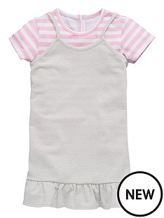 mini-v-by-very-mini-v-by-verynbspgirls-pink-stripe-tee-with-lurex-tunic-dress