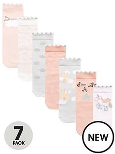 mini-v-by-very-mini-v-by-verynbspgirls-7pk-unicorn-amp-castle-socks