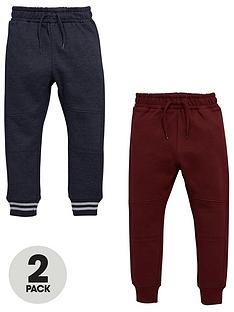 mini-v-by-very-boys-2pk-panelled-knee-joggers