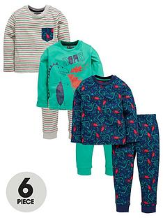 mini-v-by-very-boys-3-pack-dragon-print-pjs