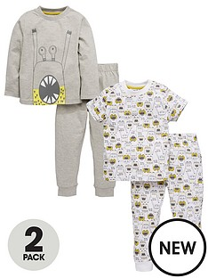 mini-v-by-very-toddler-boys-2pk-monster-pjs