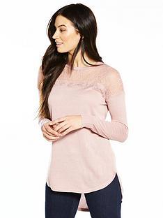v-by-very-lace-yoke-circle-hem-jumper-blush-pink