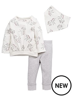 mini-v-by-very-baby-girls-3pc-unicorn-bandana-bib-top-and-legging-set