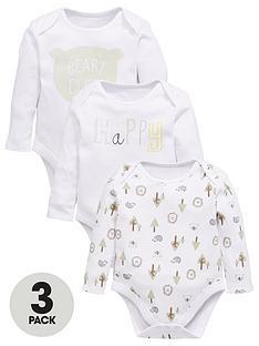 mini-v-by-very-baby-unisex-3pk-bear-amp-slogan-ls-bodysuits