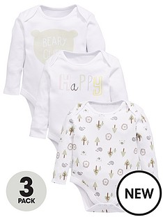 mini-v-by-very-baby-unisex-3pk-bear-amp-slogan-ls-bodysuits