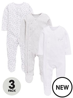 mini-v-by-very-baby-unisex-3pk-stars-sleepsuits