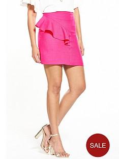 v-by-very-ruffle-mini-skirt