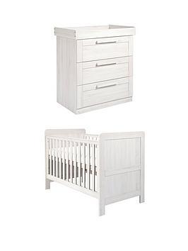 Mamas & Papas Mamas & Papas Atlas Cot Bed &Amp; Dresser Picture