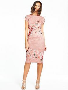 little-mistress-floral-bodycon-dress