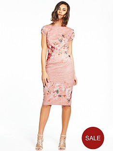 little-mistress-floral-bodycon-dress