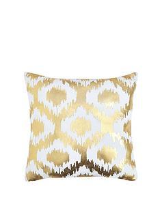 gold-ikat-cushion